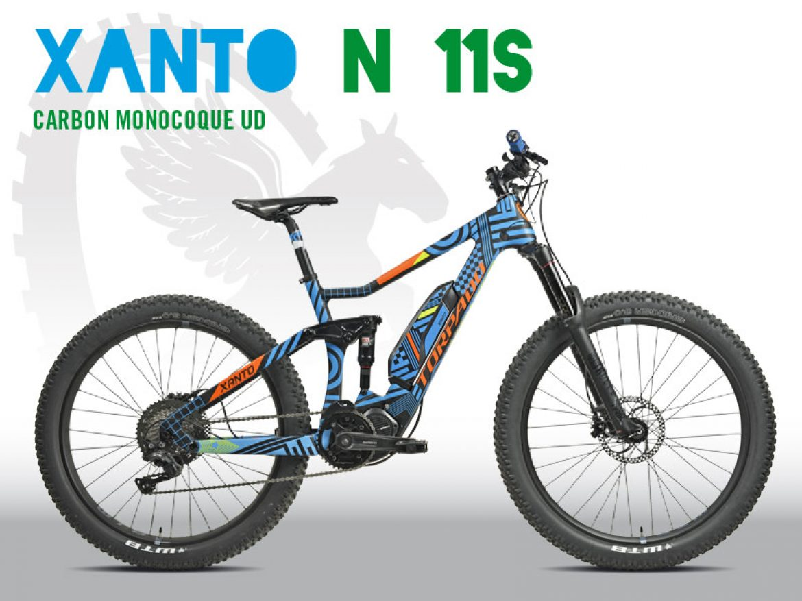 MTB FULL IN CARBONIO MADE IN ITALY